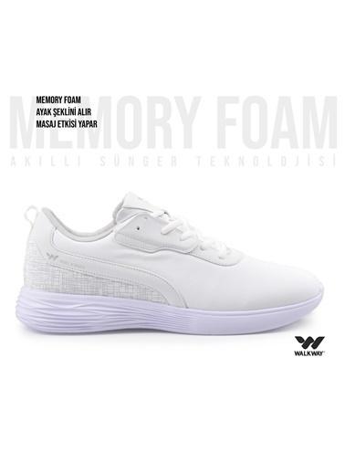 Walkway Wlk23104 Memory Foam Spor Ayakkabı Beyaz